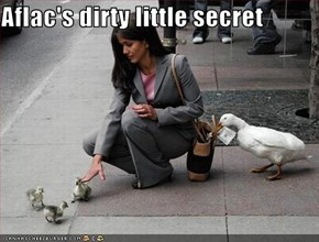 Aflac's dirty little secret