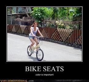 THAT'S A BIKE SEAT?!