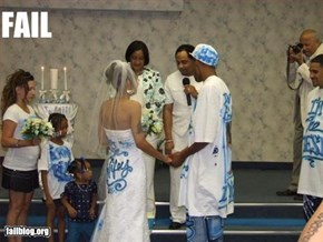 Classy Wedding Fail
