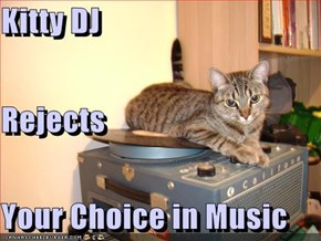 Kitty DJ Rejects Your Choice in Music