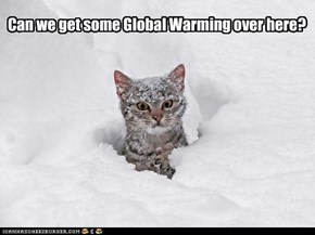 Can we get some Global Warming over here?