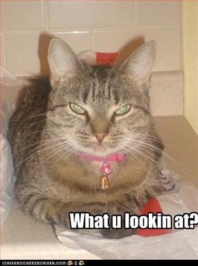 What u lookin @