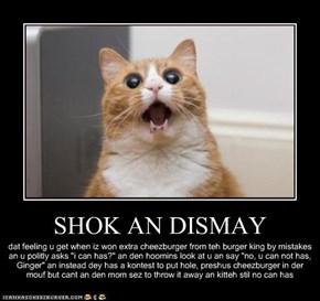 SHOK AN DISMAY