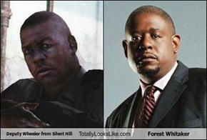 Deputy Wheeler from Silent Hill Totally Looks Like Forest Whitaker