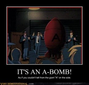 "I Think It's Just ""a Bomb"""