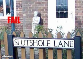 Street Name Fail