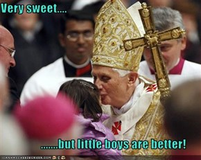 Very sweet....                   .......but little boys are better!