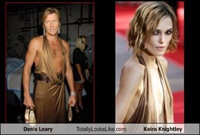 Denis Leary Totally Looks Like Keira Knightley