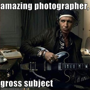 amazing photographer,  gross subject