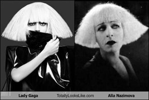 Lady Gaga Totally Looks Like Alla Nazimova