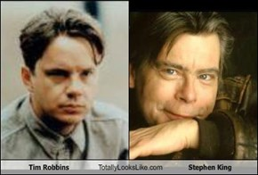 Tim Robbins Totally Looks Like Stephen King