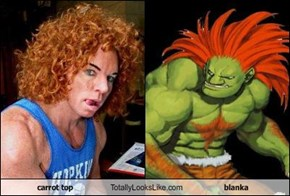 carrot top Totally Looks Like blanka