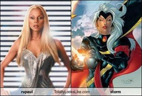 rupaul Totally Looks Like storm