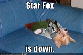 Star Fox  is down.