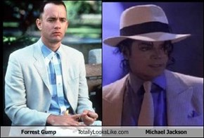 Forrest Gump Totally Looks Like Michael Jackson