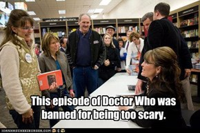 This episode of Doctor Who was banned for being too scary.