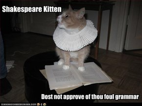 Shakespeare Kitteh