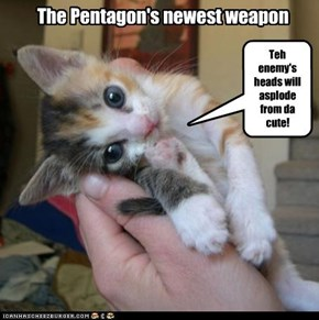 The Pentagon's newest weapon