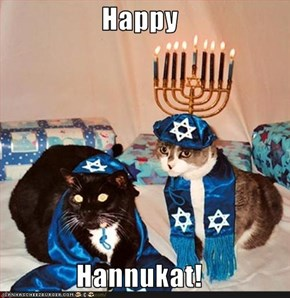 Happy  Hannukat!