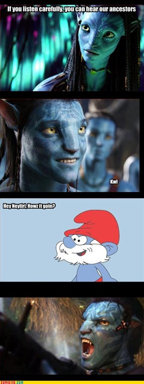 WE ARE NOT SMURFS!