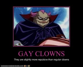 GAY CLOWNS