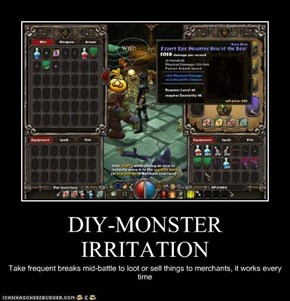 DIY-MONSTER IRRITATION