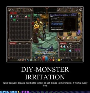 Monster Irritation DIY