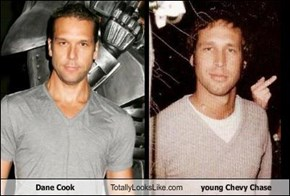 Dane Cook Totally Looks Like young Chevy Chase
