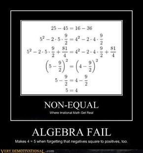 Do You Even Algebra?