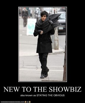 NEW TO THE SHOWBIZ