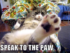 SPEAK TO THE PAW