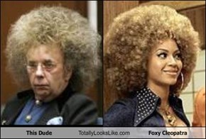 This Dude Totally Looks Like Foxy Cleopatra