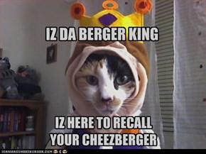 IZ DA BERGER KING