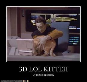 3D LOL KITTEH