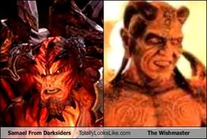 Samael From Darksiders Totally Looks Like The Wishmaster