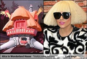 Alice in Wonderland House Totally Looks Like Lady Gaga