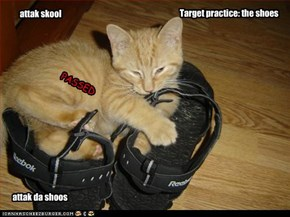 Target practice: the shoes