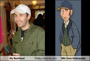My Boyfriend Totally Looks Like Nitz from Undergrads