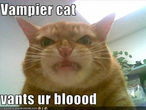 Vampier cat  vants ur bloood