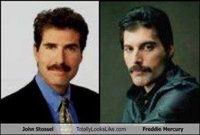 John Stossel Totally Looks Like Freddie Mercury