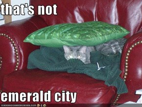 that's not  emerald city