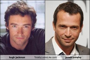 hugh jackman Totally Looks Like james purefoy
