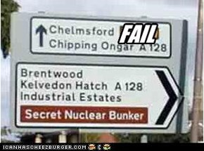 Not so Secret Nuclear Bunker.