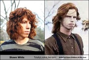 Shawn White Totally Looks Like Malachai from Chlidren of the Corn