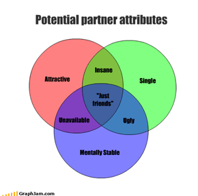 Potential partner attributes
