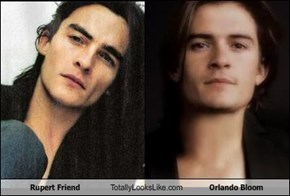 Rupert Friend Totally Looks Like Orlando Bloom
