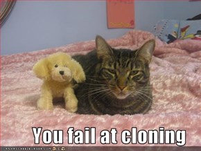 You fail at cloning