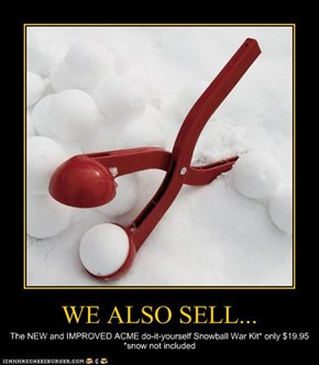 WE ALSO SELL...