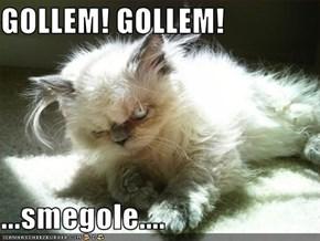 GOLLEM! GOLLEM!  ...smegole....
