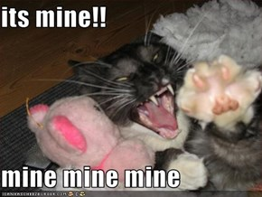 its mine!!  mine mine mine